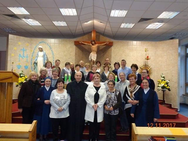 Duchovné cvičenia ZZM v Nitre - november 2017