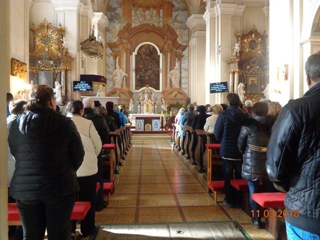Návšteva vo farnosti Ilava a požehnanie kaplniek Panny Márie