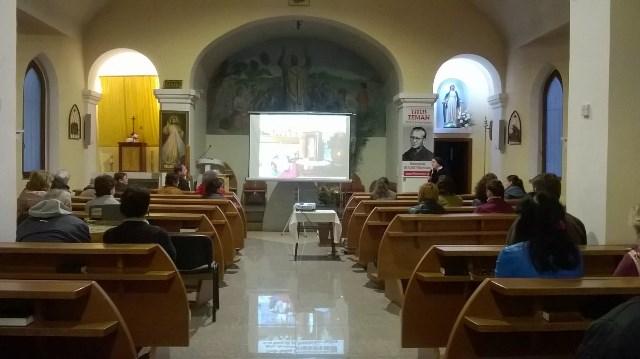 Návšteva farnosti Nitra - Čermáň