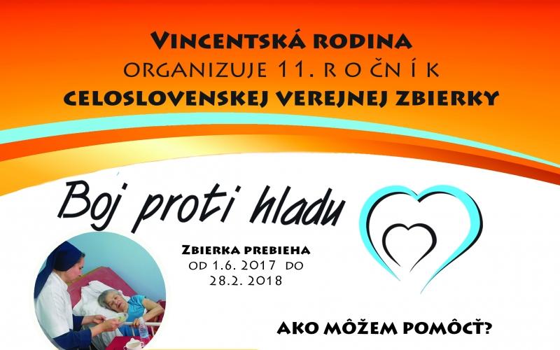 11. ročník zbierky BOJ PROTI HLADU