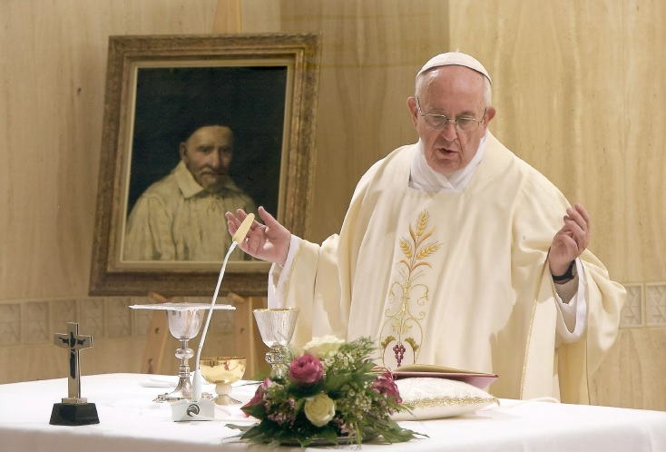 List svätého Otca Františka na sviatok svätého Vincenta de Paul