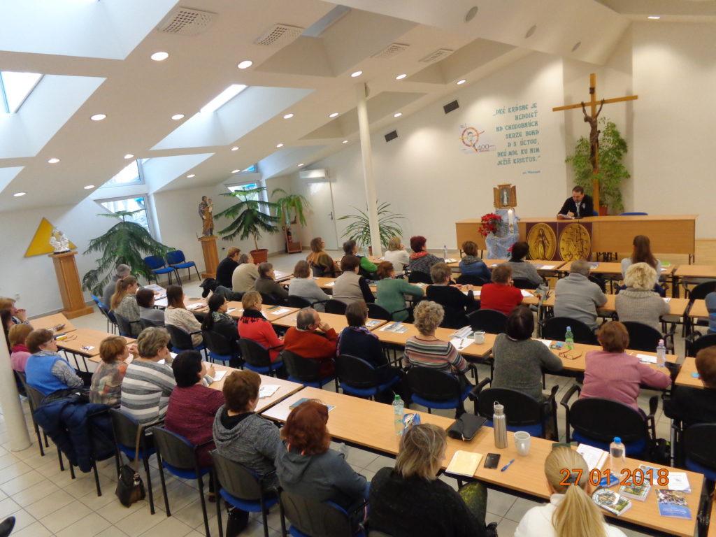 Duchovné cvičenia ZZM v Nitre