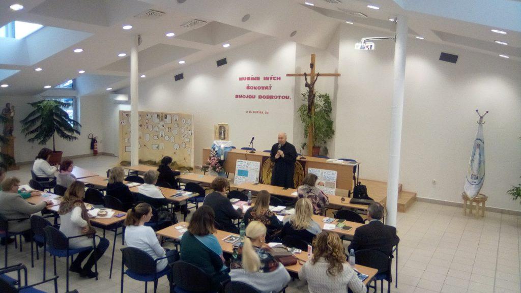 Duchovné cvičenia a stretnutie koordinátorov v Nitre